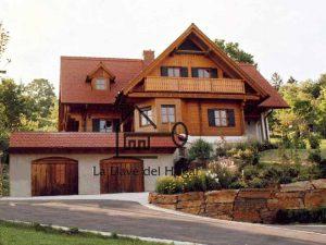 casa espectacular de madera