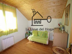 interior casa de madera La Llave del Hogar