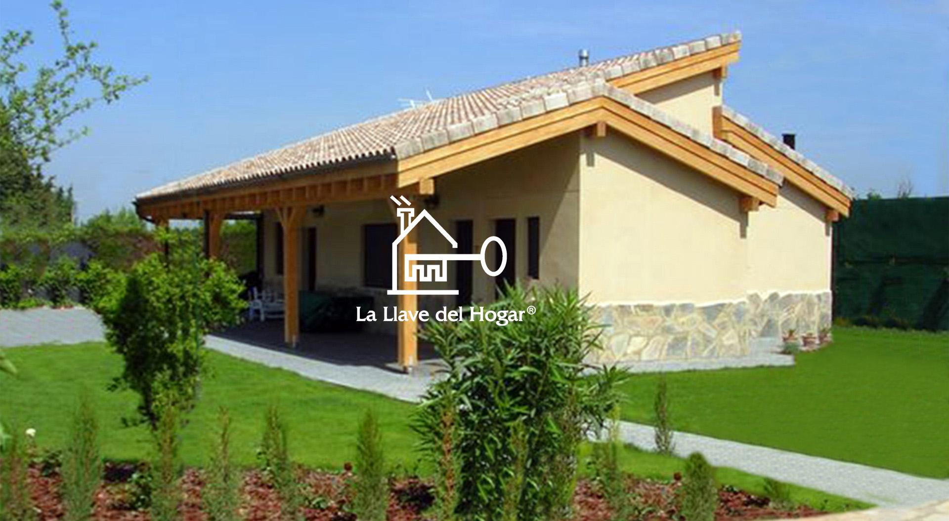 Benasque 97m casas de madera la llave del hogar - Modelos casas madera ...