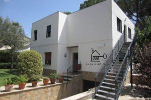 Casa de madera modelo Barcelona parte trasera
