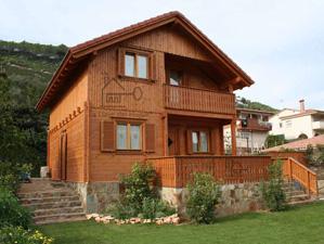 casa de madera modelo Cadi 135
