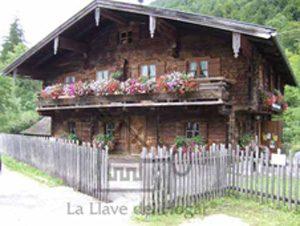 casa de madera de 200 años