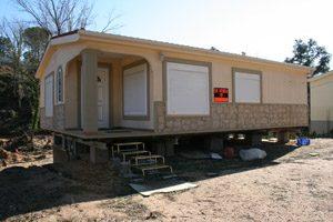 casa móvil de madera
