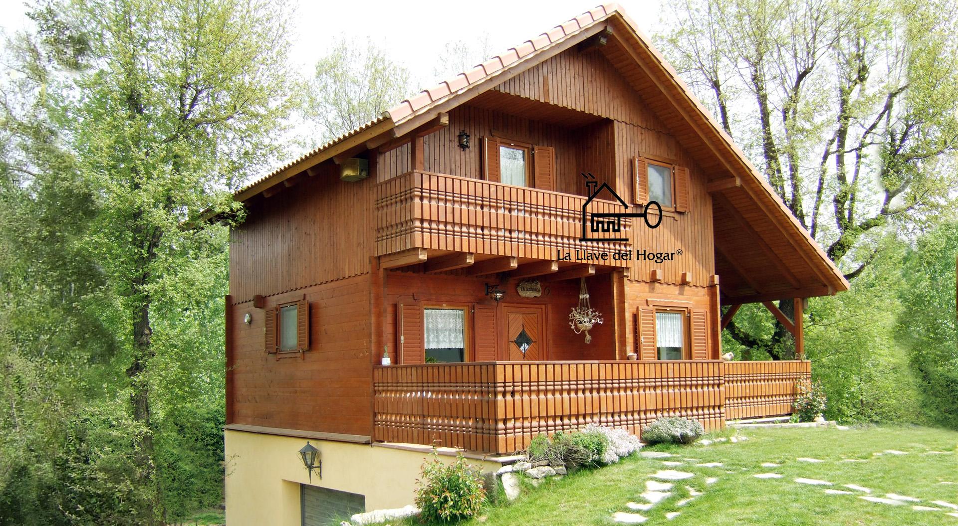 La llave del hogar casas de madera y entramado ligero - Casa de madera de ocasion ...