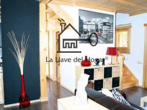 interior casa prefabricada con paredes en cartón yeso tipo pladur