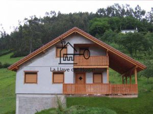 casa de entramado ligero con fachada lista para pintar para acabado como de obra tradicional