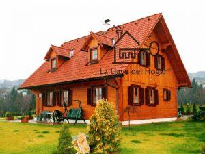 casa de madera al más puro estilo del Tirol