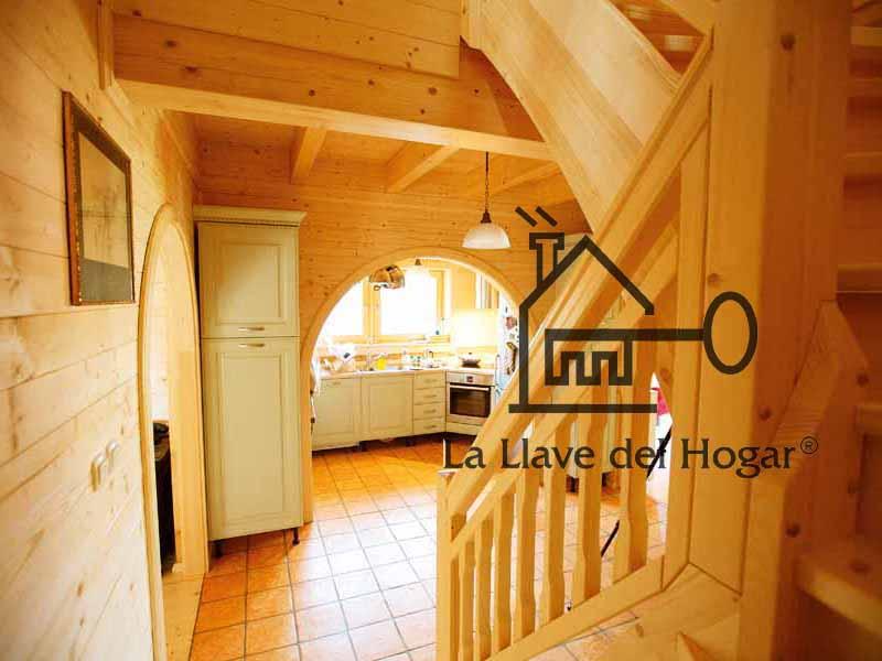 Galer a casas de madera la llave del hogar - La llave del hogar ...