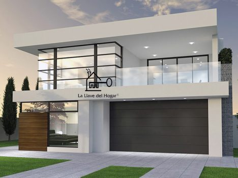 casa entramado ligero moderna