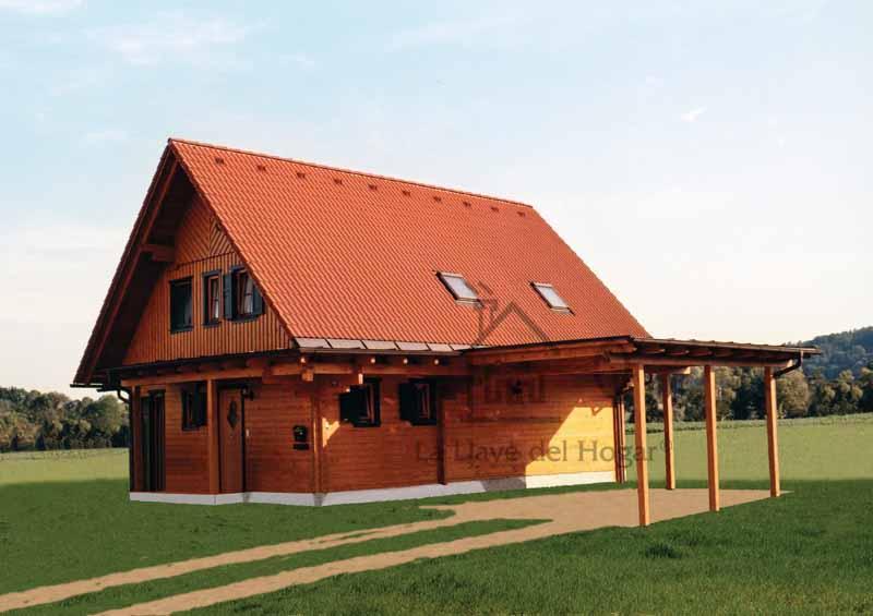 Alcazaba 170 casas de madera la llave del hogar - La llave del hogar ...