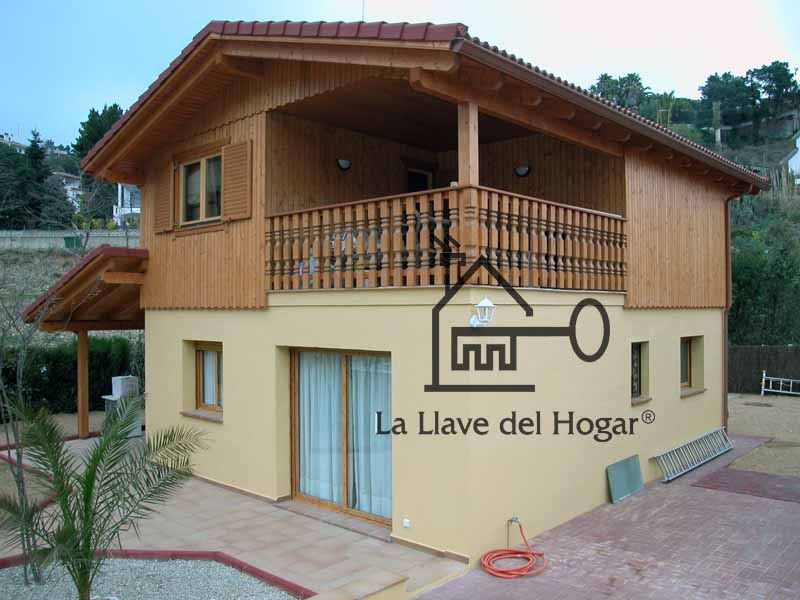 Modelo san pol 130 3 130 m casas de madera la llave - La llave del hogar ...