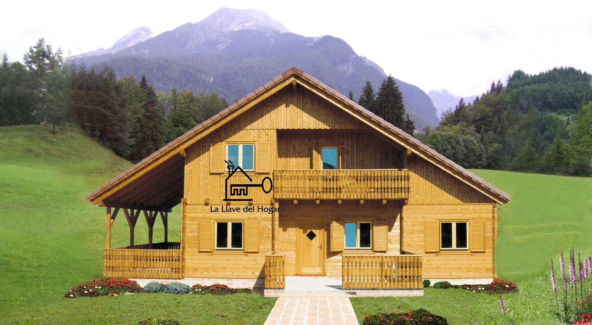 Toledo 180m casas de madera la llave del hogar - Casa madera barata ...