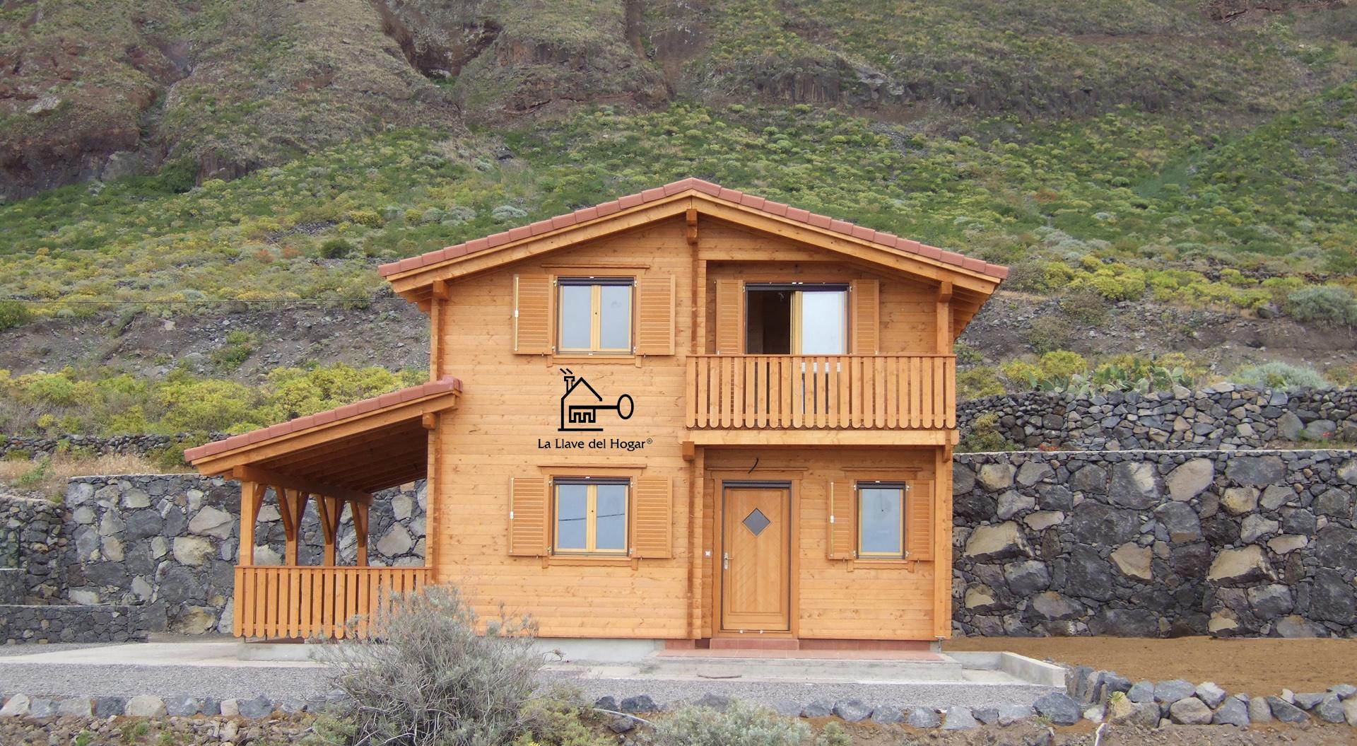 Pe alara 140m casas de madera la llave del hogar - La llave del hogar ...