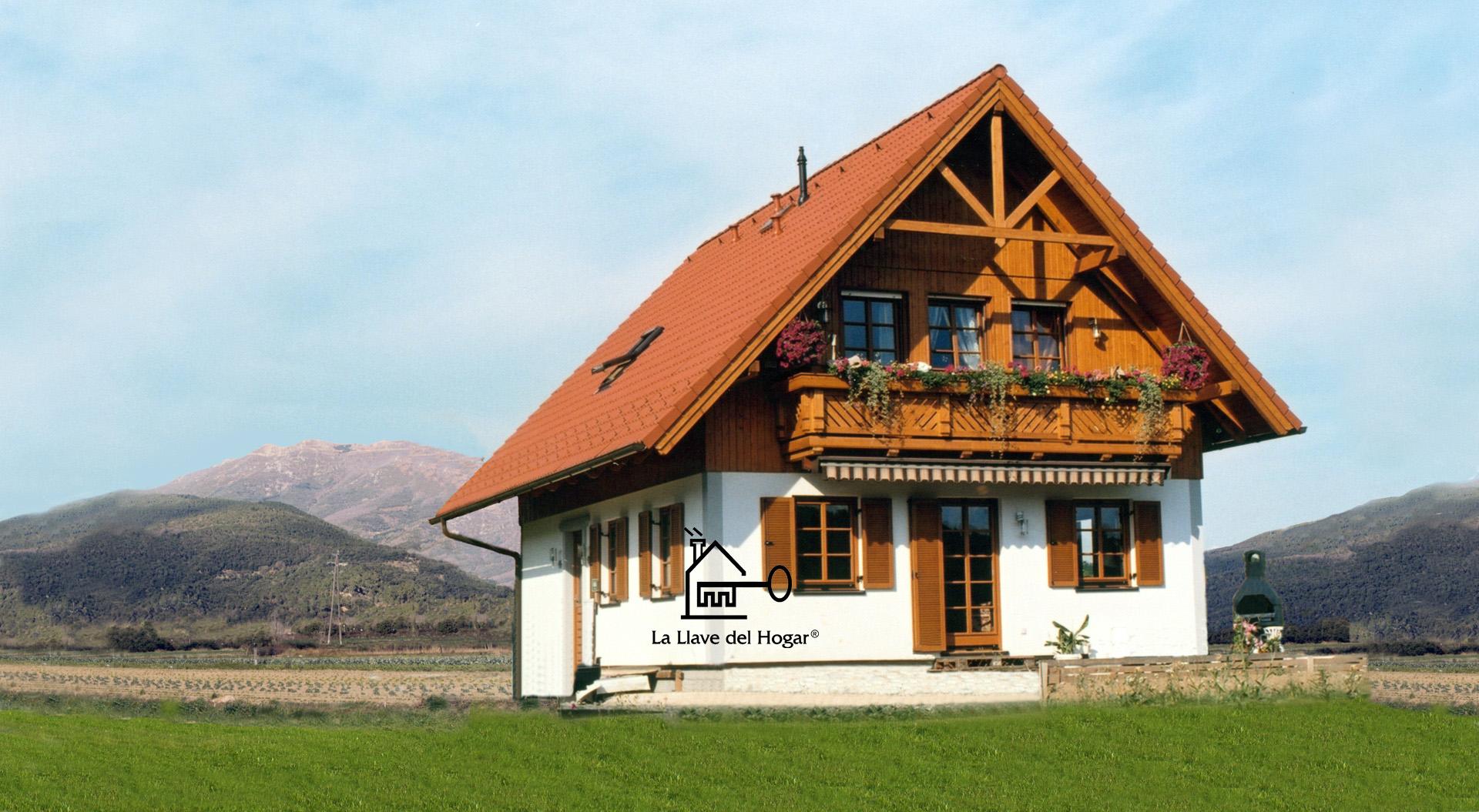Maladeta 160m casas de madera la llave del hogar - Casas entramado ligero ...
