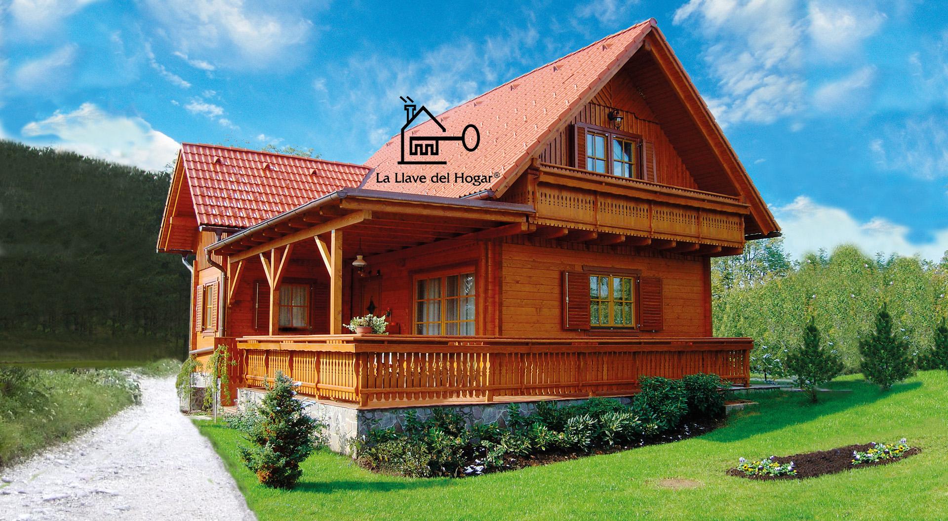 Collarada 150m casas de madera la llave del hogar - Casas entramado ligero ...