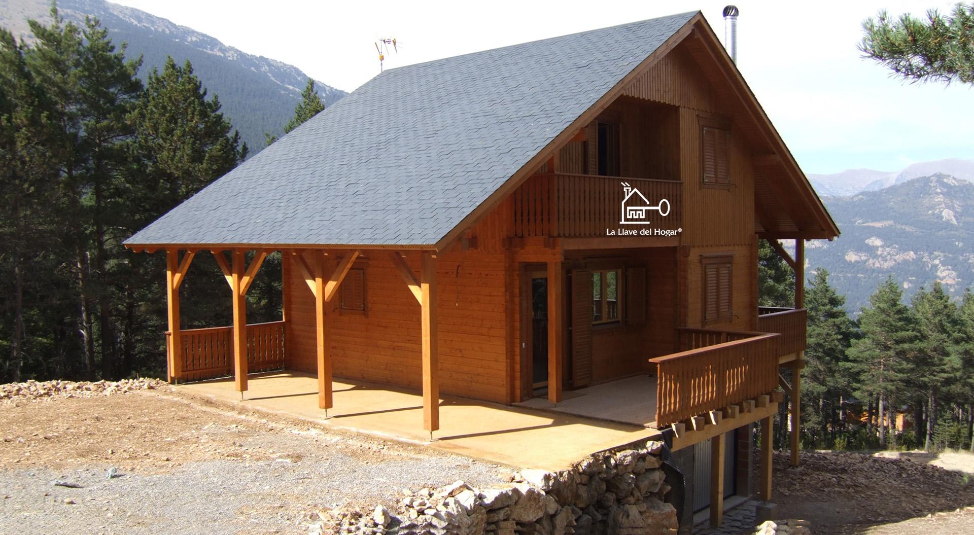 Pirineos 160m² - Casas de madera la llave del hogar