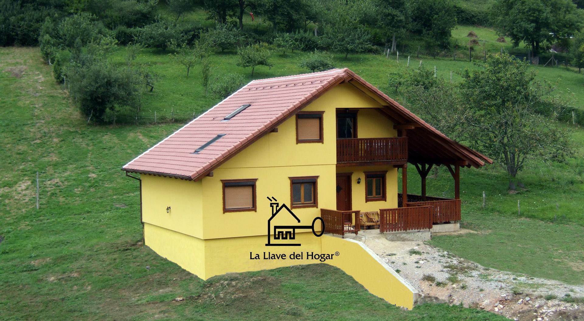 Cad plus 180m casas de madera la llave del hogar - Casas entramado ligero ...