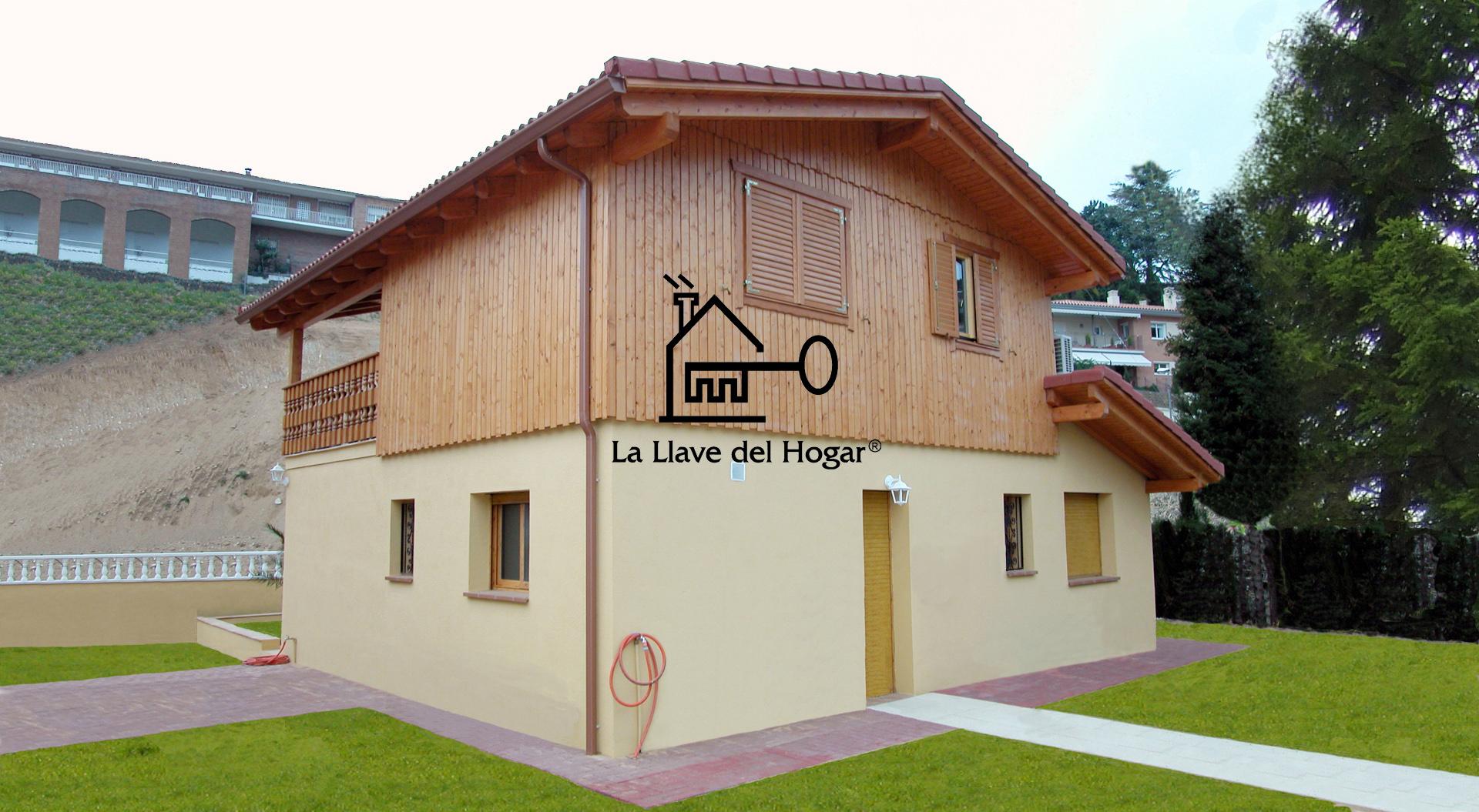 San pol 130m casas de madera la llave del hogar - Casas entramado ligero ...