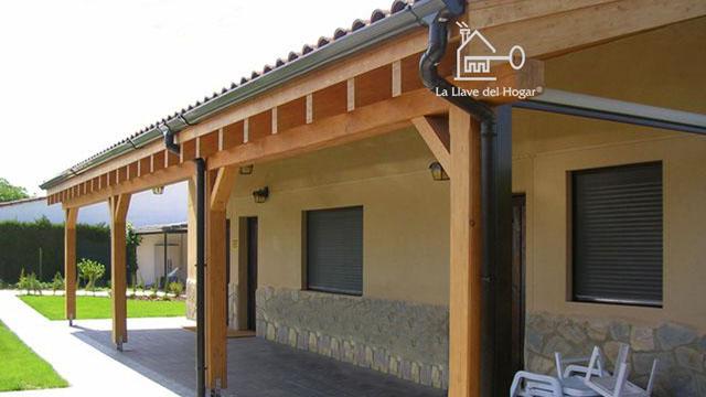 Benasque 116 m casas de madera la llave del hogar - Casas entramado ligero ...