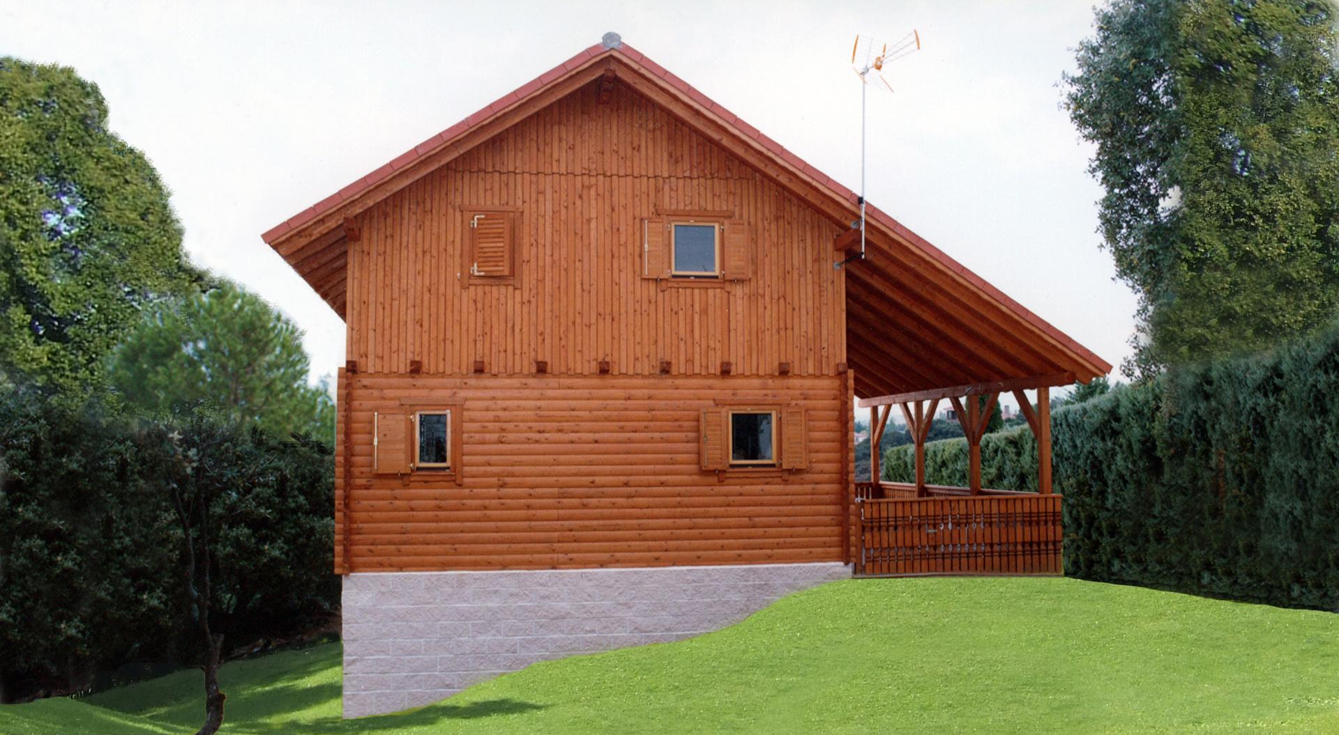 Cad 135m casas de madera la llave del hogar - La llave del hogar ...