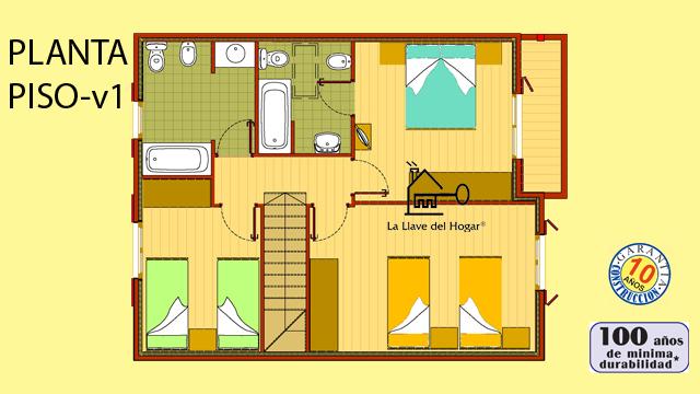 Toledo 180m casas de madera la llave del hogar - La llave del hogar ...