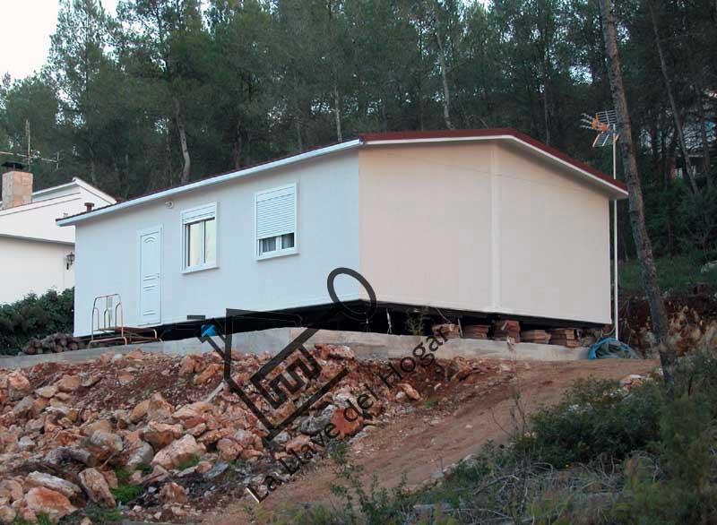 Sistema prefabricado o transportable casas de madera la - Modulos metalicos prefabricados ...