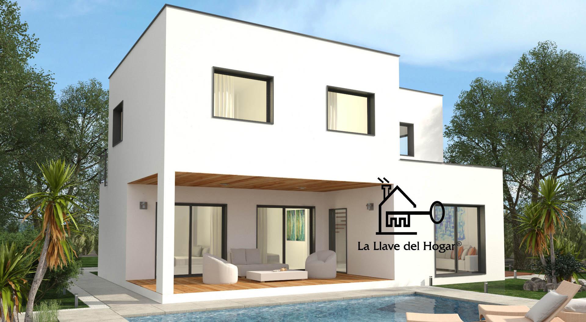 Tarragona 195 m casas de madera la llave del hogar - Casas entramado ligero ...