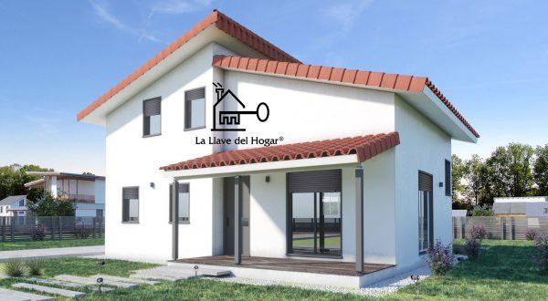 Zaragoza 130 m casas de madera la llave del hogar - Casas entramado ligero ...
